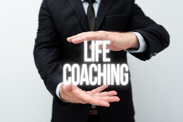 writing displaying text life coaching business