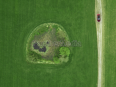 russia moscow oblast aerial view of