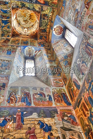 frescoes elijah the prophet church unesco